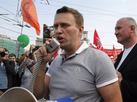 Detenido el opositor ruso Alexei Navalni en un intento de viajar al extranjero para recibir tratamiento médico