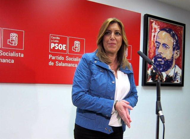 Susana Díaz, este jueves