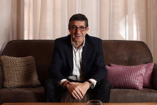 Entrevista de Europa Press a Patxi López