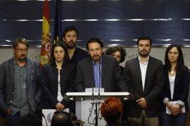 Podemos baraja registrar su moción de censura en vísperas de las primarias del PSOE