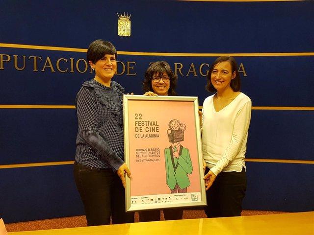 Presentación del 22º Festival de Cine de La Almunia 'Fescila 2017'