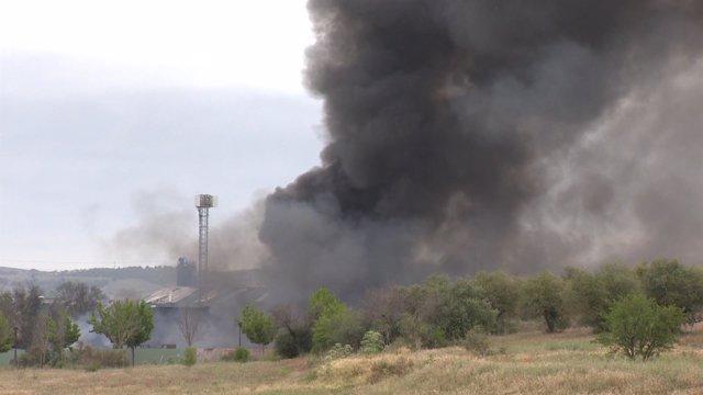 El incendio de Arganda deja 15 heridos