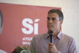 """Pedro Sánchez dice que los que pensaban ganar las primarias antes de que los militantes votaran """"se equivocaron"""""""
