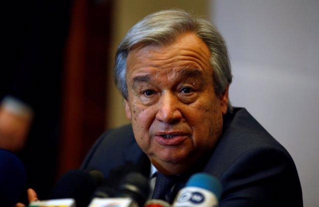 El secretario general de la ONU, António Guterres