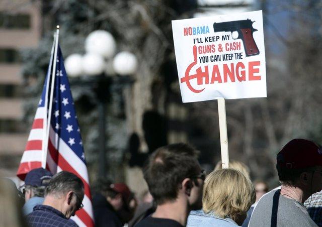Manifestaciones por todo EEUU para reivindicar el derecho a tener armas