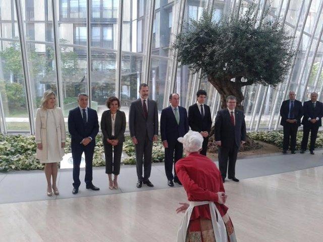 Visita del Rey a Bilbao