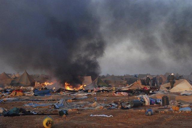 Campamento Gdeim Izik, Sáhara Occidental