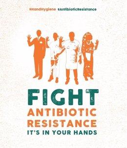 Cartel Higiene de manos de la OMS