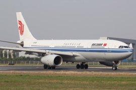 Air China inaugura su nueva ruta aérea entre Barcelona y Shanghái