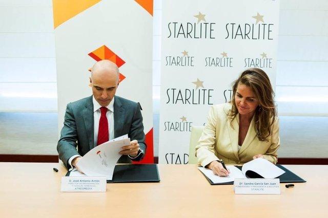 Atresmedia y Starlite firman un acuerdo de colaboración por 3 años