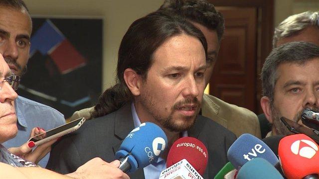 Iglesias presentará la moción de censura en mayo