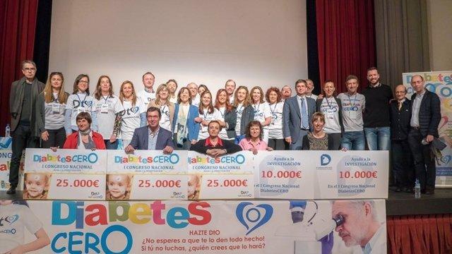 DiabetesCERO escoge las tres investigaciones merecedoras de 25.000 € donados a c