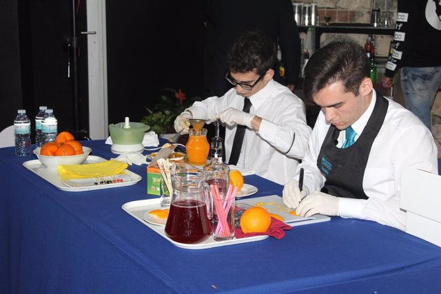 Concurso de coctelería en Málaga (Archivo)