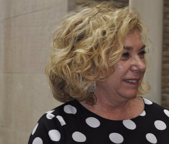 La parlamentaria del PP, Dolores Serrat