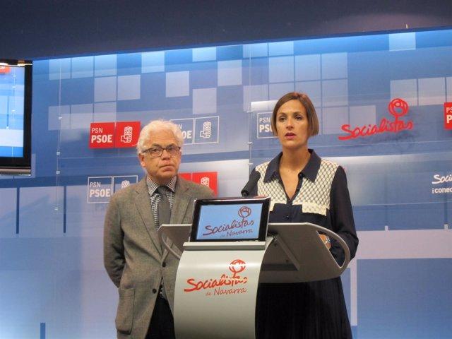 María Chivite y Jesús Mari Fernández
