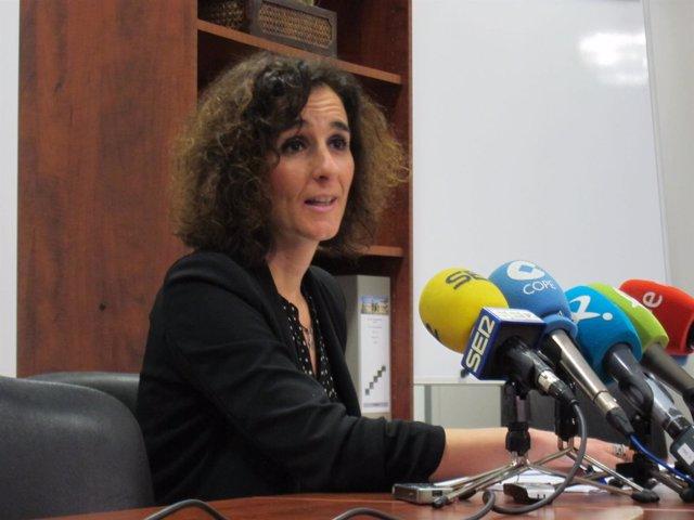 La directora general de Industria, Energía y Minas, Olga García