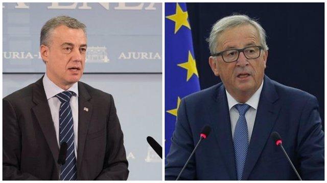 Iñigo Urkullu y Jean-Claude Juncker