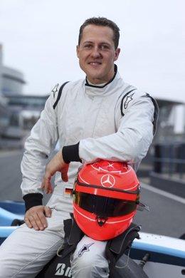 El piloto alemán Michael Schumacher