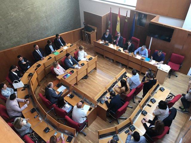 Pleno del Ayuntamiento de Lorca