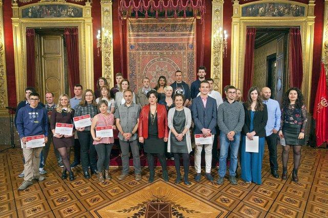 Galardonados en los Premios Extraordinarios de FP, Artes Plásticas y Diseño