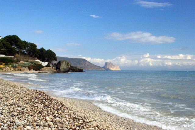 Una playa de la Comunitat Valenciana