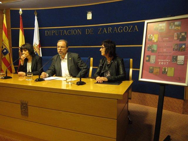 Presentación de la campaña de animación a la lectura de la DPZ
