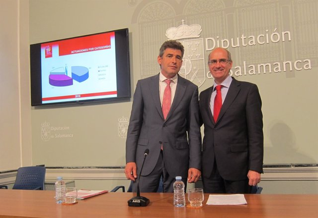 Julián Barrera y Javier Iglesias