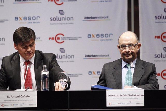 Antoni Cañete y Cristóbal Montoro