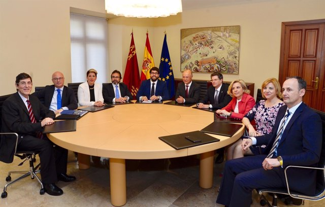 Consejo de Gobierno de los nuevos consejeros