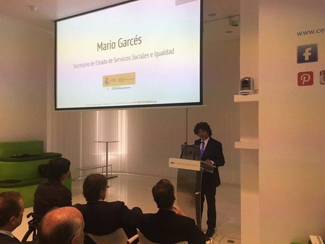 El secretario de Estado de Servicios Sociales, Mario Garcés
