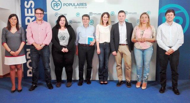Comité Organizador del Congreso Provincial del PP de Almería