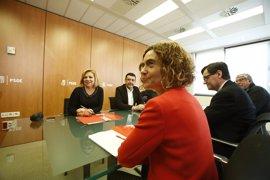 """Batet pide a los candidatos a las primarias del PSOE """"generosidad"""" para un proyecto compartido"""