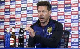 """Simeone: """"Los últimos seis años son los mejores en la historia del club"""""""