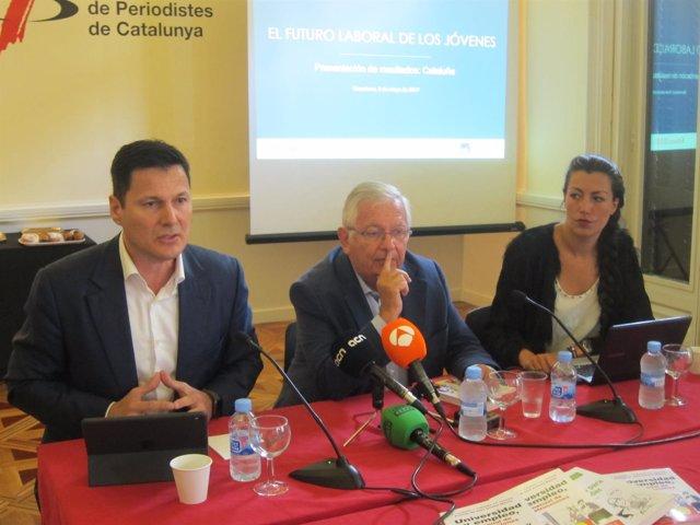 Josep Alfonso, Fernando Jáuregui y Lurdes Carmona