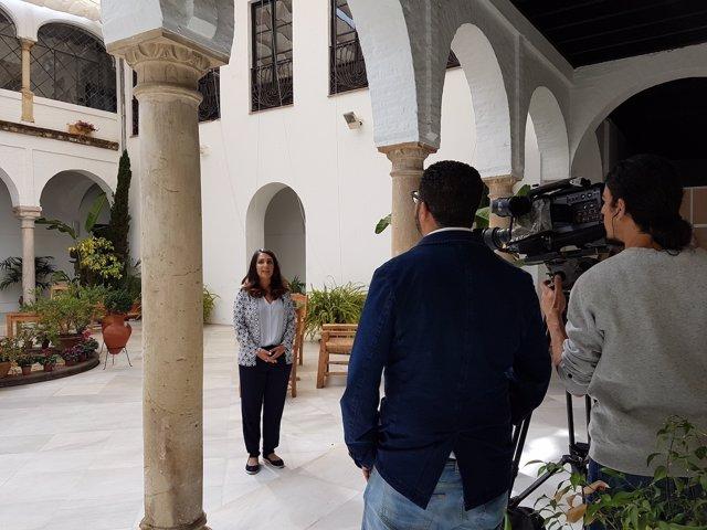 17 05 05 Nota Y Foto Sobre Reportaje Al Jazeera Tv Sobre Fiesta De Los Patios De