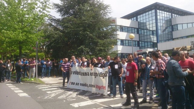 Movilizaciones de los trabajadores de Pine