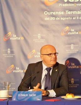 José Manuel Baltar, presidente de la Diputación de Ourense
