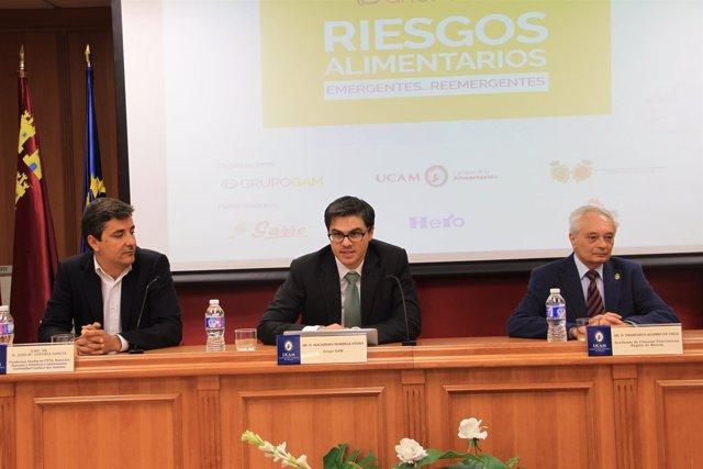 Jornadas sobre Seguridad Alimentaria celebradas en la UCAM