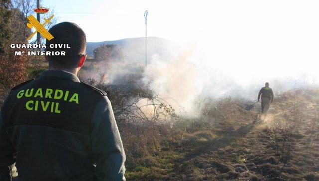 Incendio en El Barco de Ávila