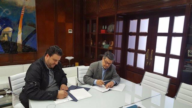 Acuerdo entre el Puerto de Huelva y la Fundación Prenauta.
