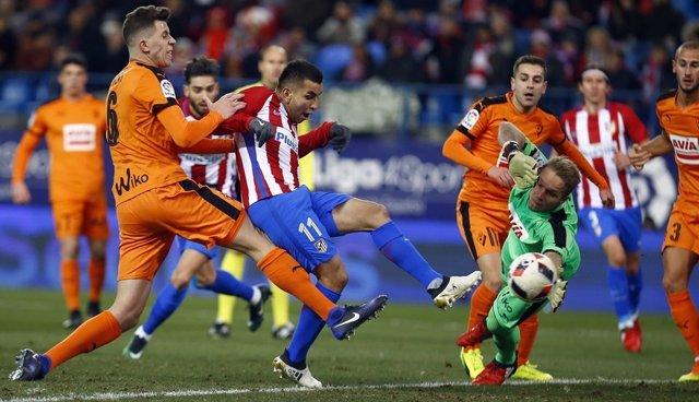 Correa en el Atlético Madrid - Eibar
