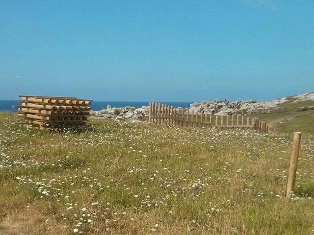 Estado actual de la senda costera de Cabo Mayor