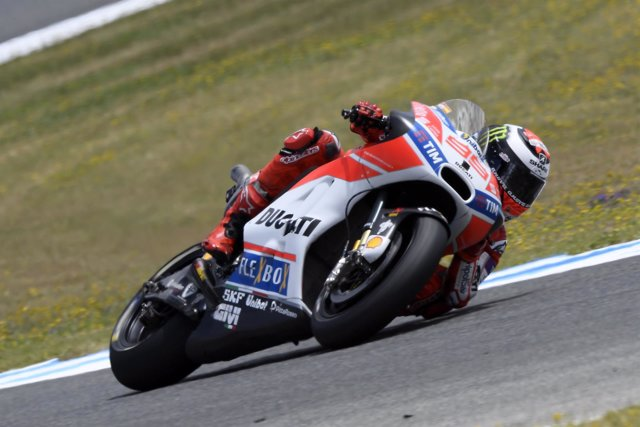 Jorge Lorenzo en el GP de España