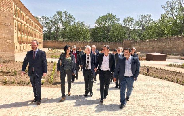 Ruiz Daimiel, González, Butler, Sánchez Quero y Tabuenca, en Veruela