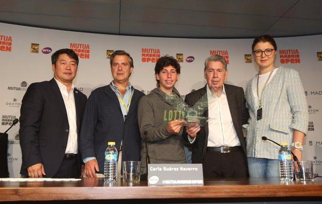 Ecovidrio Y El Mutua Madrid Open Presentan Los Trofeos De 2017