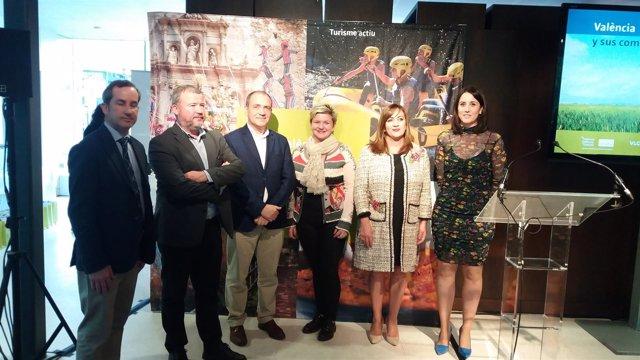 València Turisme promociona la provincia en Expovacaciones
