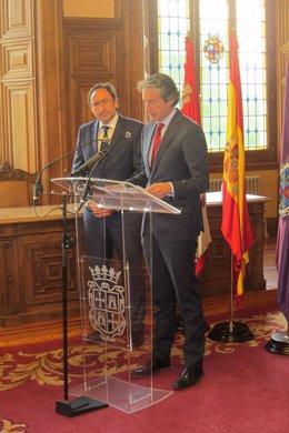 Palencia.- Polanco y De la Serna