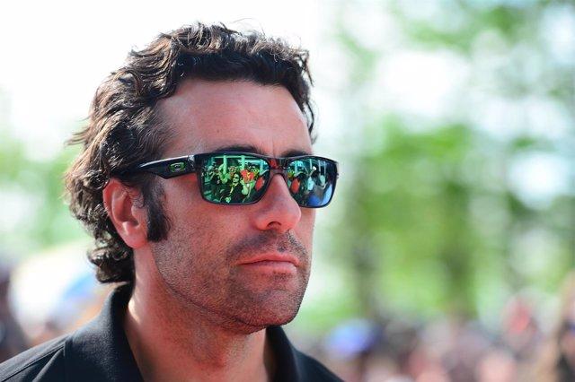 El tres veces campeón de las 500 Millas de Indianápolis Dario Franchitti