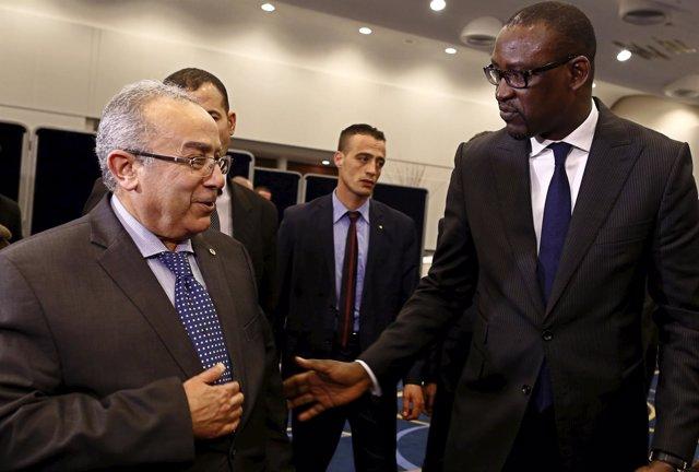 El ministro de Exteriores y Cooperación Internacional de Malí, Abdoulaye Diop.