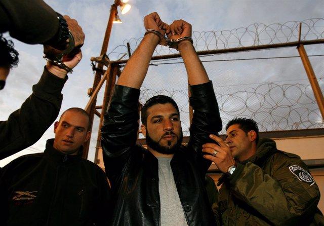 Preso palestino